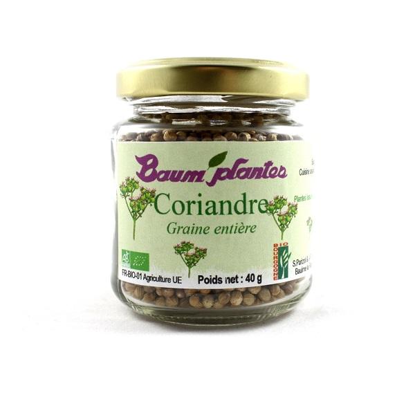 Coriandre graine