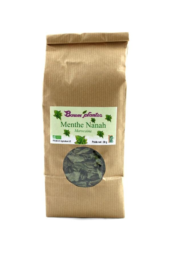 Menthe Nanah ou menthe marocaine
